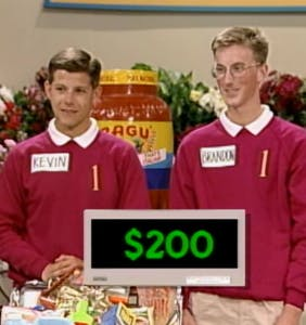 "Everyone's talking about what happened to Brandon and Kevin, the ""roommates"" from 'Supermarket Sweep'"
