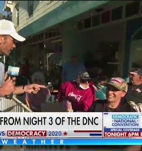 "Fox News runs untrue segment about how coronavirus is ""over""… so everybody crowd into restaurants!"
