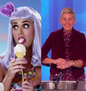 Katy Perry rushed to defend Ellen. It did not go well.