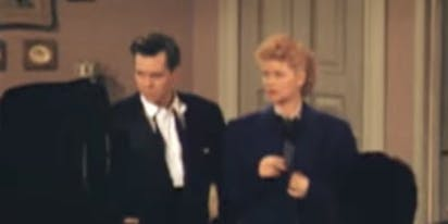 "Rare color footage of ""I Love Lucy"" taken by fan's smuggled camera"