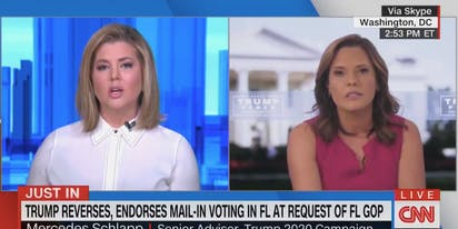 This clip of a CNN anchor telling Trump's campaign advisor she's full of crap is deeply cathartic