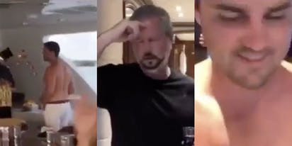 Now there's video of Jerry Falwell Jr. with his pants unzipped and partying with shirtless guys