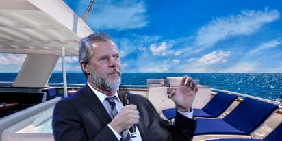 Jerry Falwell Jr. ousted as Liberty University pres. after being caught with pants down on yacht