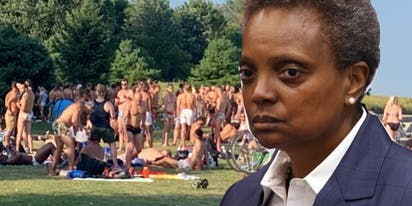 Lori Lightfoot blasts white gays for partying on the beach and ignoring social distancing guidelines