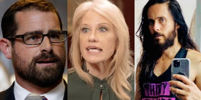 Brian Sims' 911 call, Kellyanne Conway can't control her daughter, Jared Leto is going gay for pay