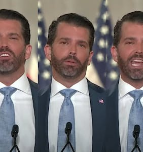 Don Jr. swears he wasn't coked out of his mind at RNC, blames bad lighting for sweaty face