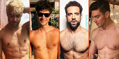 Andres Camilo's milk bath, Taylor Lautner's cuddle buddy, & Nyle DiMarco's tub time