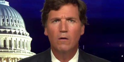 Tucker Carlson has on-air freakout because he can't pronounce Kamala Harris's name