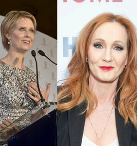 "Cynthia Nixon blasts JK Rowling over transphobia: ""It was really painful"""
