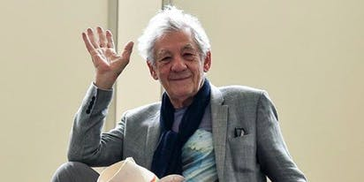 That time Ian McKellen shared a throwback pic from 50 years ago and everyone swooned hard