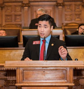 This strapping, gay, Asian American millennial is making history in Georgia's general assembly