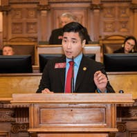 Sam Park is a strapping, gay, Asian American millennial making history in Georgia politics