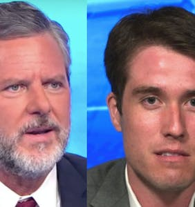Pool boy says Jerry Falwell Jr. has been harassing him for weeks and he has texts to prove it