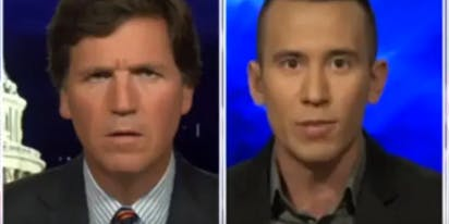 Watch Tucker Carlson's face when he finds out how many gay Congressional staffers are Republican