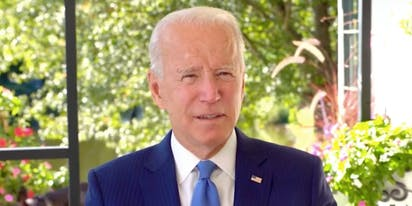 Joe Biden offers a powerful rallying cry to LGBTQ people