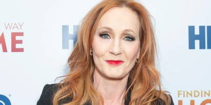 JK Rowling's new book is about a man who dresses up like a woman…to kill people