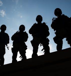 """SWAT"" team raids the Baltimore Eagle"