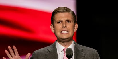 "So Eric Trump came out on Fox News this morning and everyone's like ""Um… what?"""
