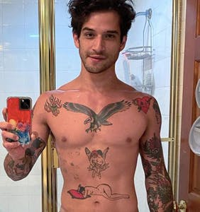 Welp, it's official! Tyler Posey has joined OnlyFans and, yes, he's naked