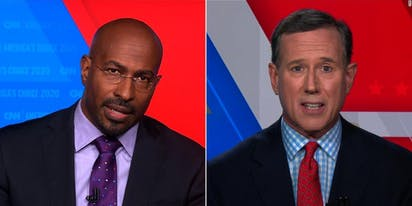 Rick Santorum tries to suggest Trump isn't racist, gets his a** handed to him on live TV