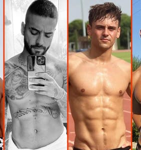Tom Daley's training buddy, Ronnie Woo's donut hole, & Billy Porter's voting glow