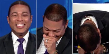 """Don Lemon absolutely loses it when Mary Trump talks about her uncle dancing to """"Macho Man"""""""