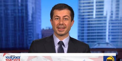 "Mayor Pete epically owns Trump's ""crazy uncle"" debate performance"