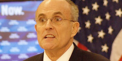 Rudy Giuliani portrayed in compromising situation in the new 'Borat' sequel