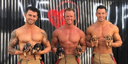 PHOTOS: Cozy up to the 2021 Australian Firefighters calendar