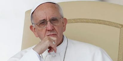 "Pope Francis endorses civil unions because same-sex couples ""have a right to a family"""