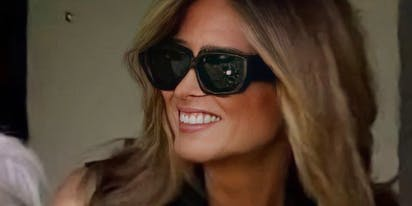 """Fake Melania"" trends on Twitter with more people saying they prefer her to the real Melania"