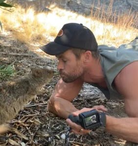 That time Chris Hemsworth's power bottoming energy went viral