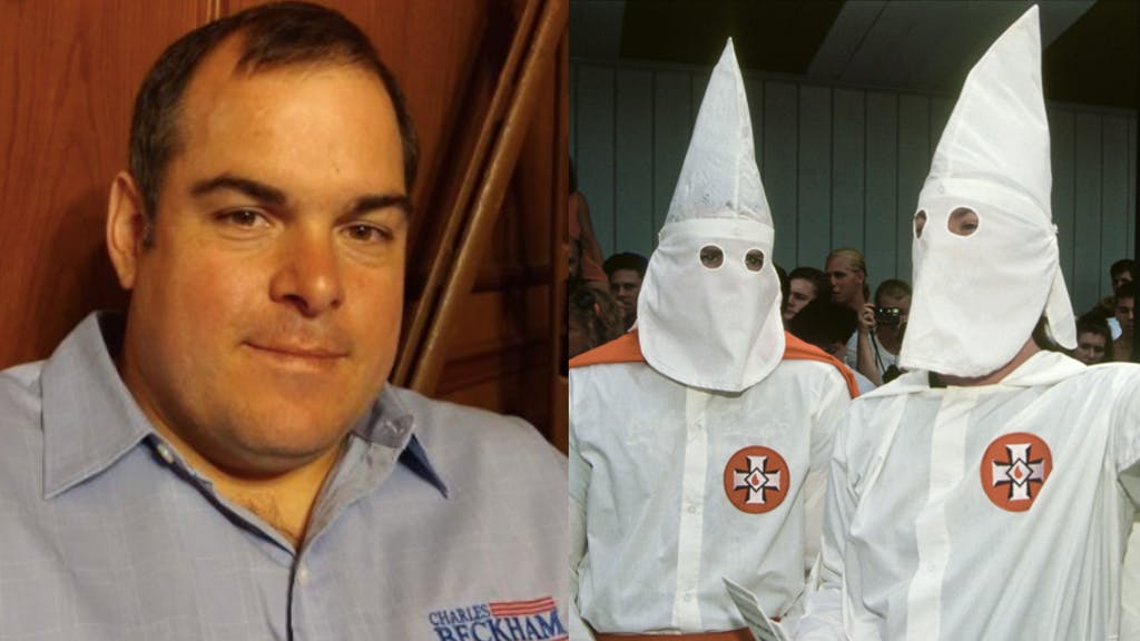 """""""Family values"""" candidate says he's really sorry for wearing KKK robe, insists he's a good Christian"""