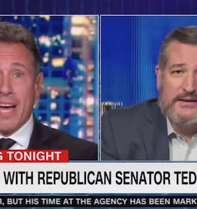 "Chris Cuomo asks Ted Cruz why he keeps supporting Donald Trump after he ""called your wife ugly"""