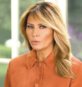 """Melania is absolutely """"shocked"""" to learn there are people who think her husband is antigay"""