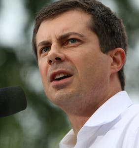 WATCH: Pete Buttigieg destroying a MAGA heckler is the campaign catharsis we love to see