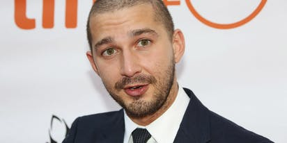 Shia LaBeouf in le buff like you've never seen him before