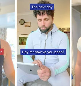 Gay romance in the age of hook-up apps summarized in brutal TikTok video