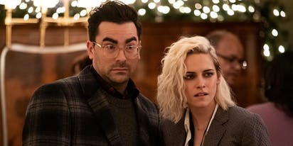 Dan Levy & Aubrey Plaza on surviving holiday crazy in 'Happiest Season'