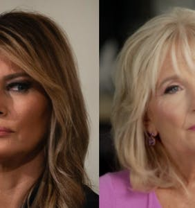 Melania won't meet with Jill Biden at the White House probably because she's already fled D.C.