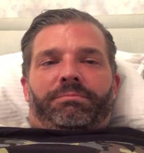 Don Jr., infected with coronavirus, posts totally unnecessary fart video from quarantine