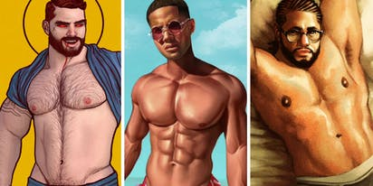 Nine of the hottest, queer, erotic artists to follow
