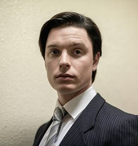 """'Crown' star Freddie Fox says actors with sexually """"rounded experience"""" have an advantage"""