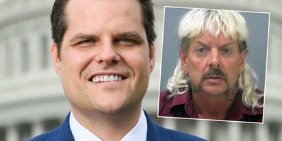 Rep. Matt Gaetz suggests Donald Trump pardon Tiger King Joe Exotic
