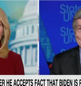 GOP Senator Roy Blunt denies Biden's victory & CNN's Dana Bash looks totally irked
