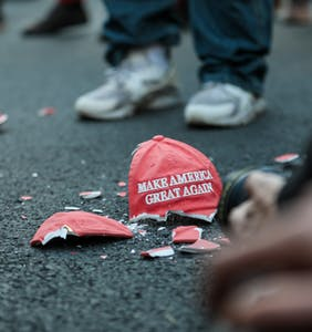 MAGA march expected to draw millions of attendees misses target by about 995,000 people
