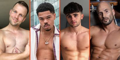 Matthew Camp's chest, Lil Nas X's topper, & Todd Sanfield's tan lines
