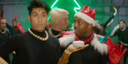 "WATCH: Todrick Hall gets into the holiday spirit with ""Bells, Bows, Gifts, Trees"""
