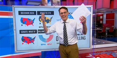 "MSNBC ""Map Daddy"" Steve Kornacki joins NBC as a football commentator"