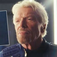Richard Branson wears pride ribbon to space in memory of Pulse nightclub victims